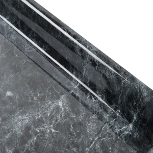 Cubierta Postformado Florentino Negro 50cm Con Respaldo 90 1 5mt Oferta